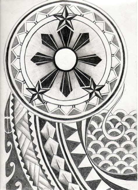 filipino tribal pattern meaning filipino tribal tattoo design by carrieannnn on deviantart
