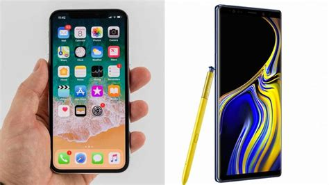 samsung 9 vs iphone x iphone x vs samsung galaxy note 9 comparison review macworld uk