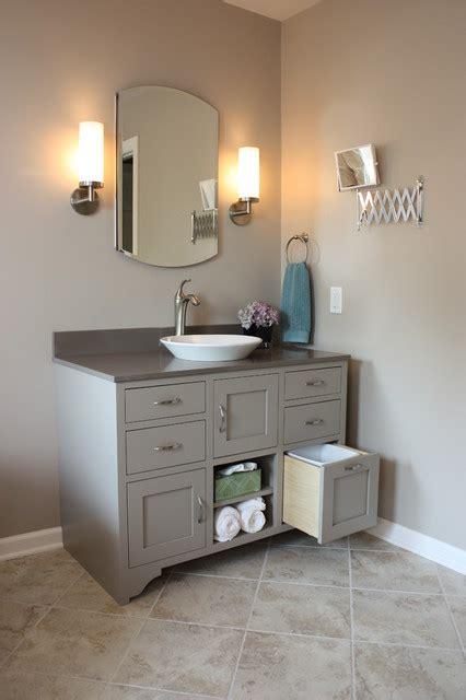Bathroom Vanities Milwaukee Two Vanity Bathroom Contemporary Bathroom Milwaukee By Design Three