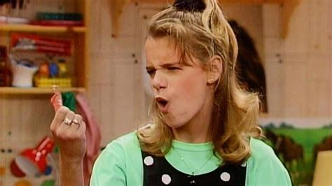 full house kimmy the real kimmy gibbler may have had the best reaction the unauthorized full