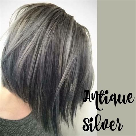 silver highlights short hair pin by linzie arnold on hairs pinterest silver