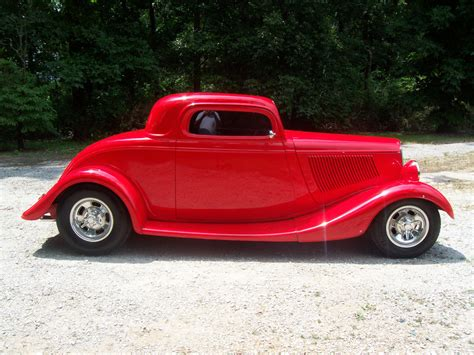 four ford 1933 ford three window coupe for sale