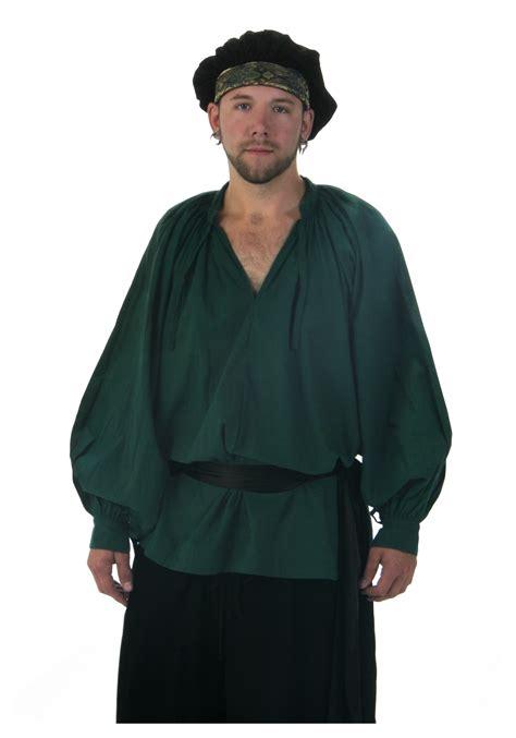 green renaissance shirt