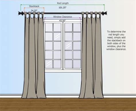 what size curtain rod for window how to measure for your curtain rod curtains and rugs