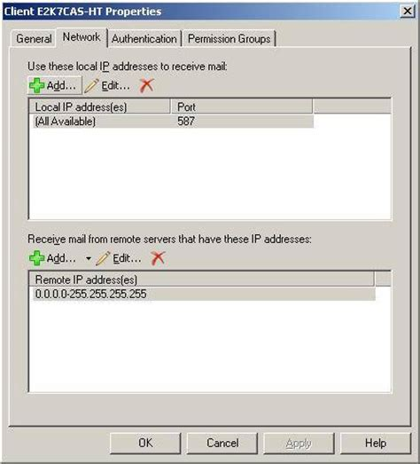 using pop3 and imap4 to access exchange 2007 part 1