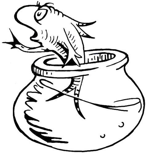 How To Draw The Fish From The Cat In The Hat Dr Seuss Fish Coloring Pages Dr