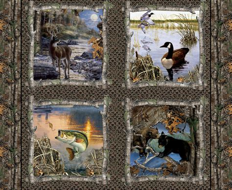 Wildlife Fabric For Quilting realtree from print concepts
