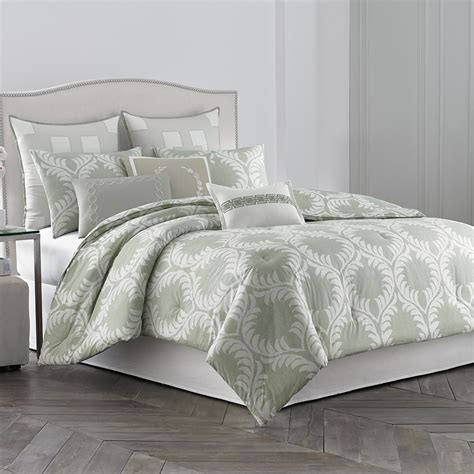 leaf comforter wedgwood laurel leaves comforter set from beddingstyle com