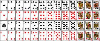 deck of cards finite math
