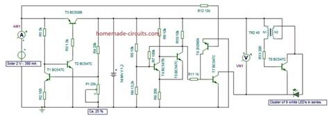 solar garden light wiring diagram wiring diagram and