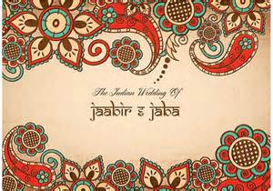 indian wedding cards vector files free vector colorful indian wedding card free vector stock graphics images
