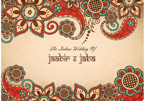 colorful card background design elements free vector in free vector free vector colorful indian wedding card