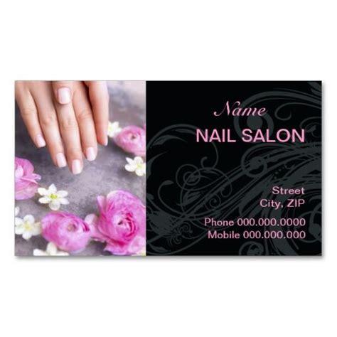 business card templates for nail salon nail salon business card