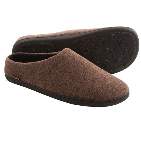 fleece lined mens slippers acorn highlander slippers fleece lined for save 32
