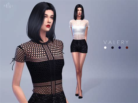 lace shirt the sims 4 starlord s panelled lace tee valery sims 4 updates