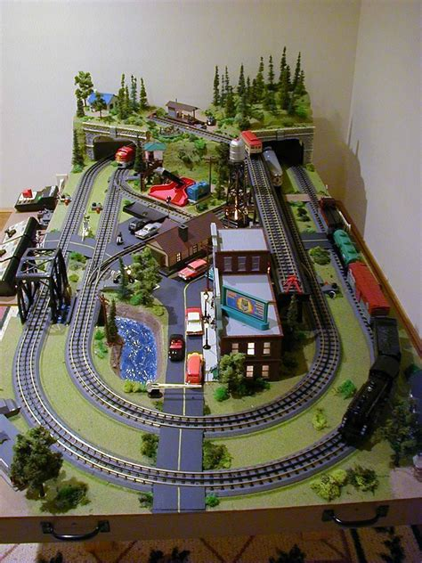 train layout game mini things 4 x 8 o scale layout with mth track and