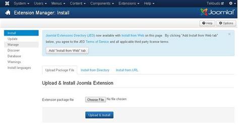tutorial joomla plugin technology homesite