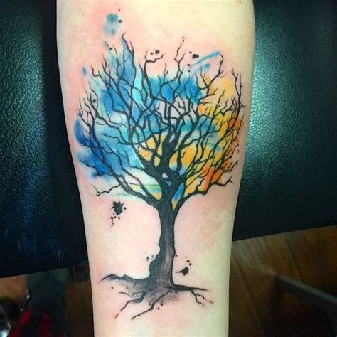 watercolor tree tattoo designs 25 best ideas about maple tree tattoos on