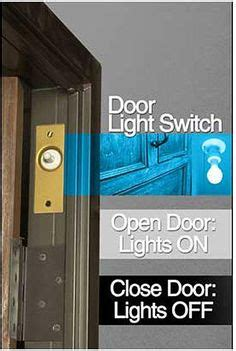 sliding door light switch automatic 1000 images about lighting automatic closet pantry