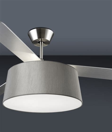 drum light with fan modern ceiling fan with light and drum shade
