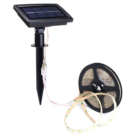 5m Smd2835 Waterproof Solar Powered Led Light For