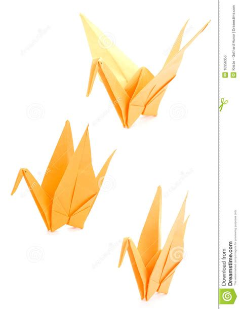 How To Make Paper Yellow - yellow origami royalty free stock image image 16956356