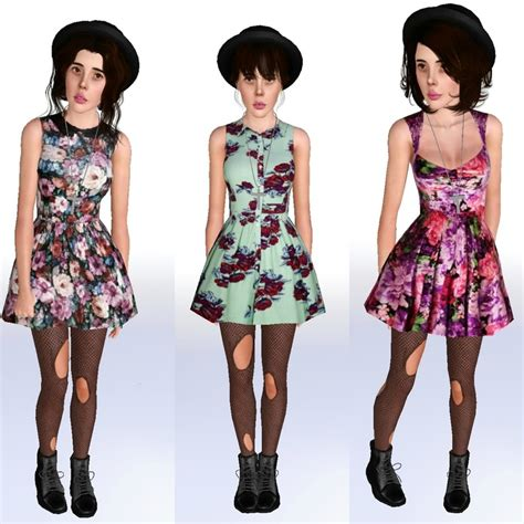 sims 3 outfits my sims 3 blog 3 spring fling dresses by