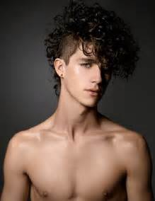 how to get model hair for guys guy patrick rocks curly hairstyles for kimber capriotti shoot