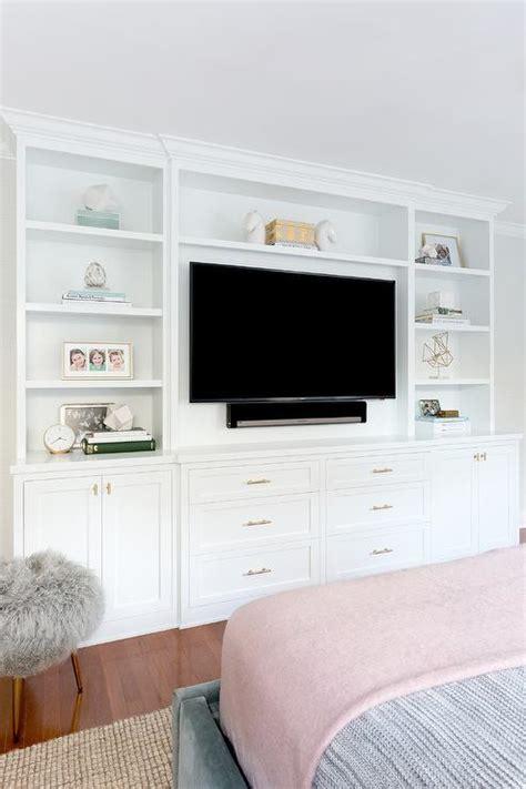 bedroom tv wall units bed facing built in tv unit transitional bedroom
