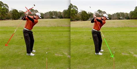 over the top swing how to prevent the dreaded quot coming over the top quot move
