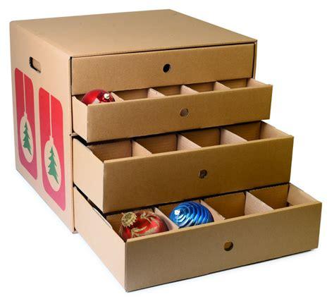 Ornament Box Storage - storing fragile ornaments core77