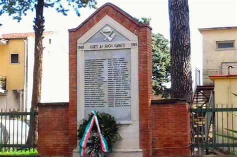 interno 18 curti monumento ai caduti di curti 1940 1945 pietre della memoria
