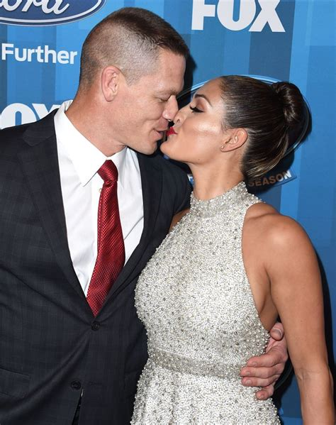 nikki bella and john john cena and nikki bella s cutest pictures popsugar