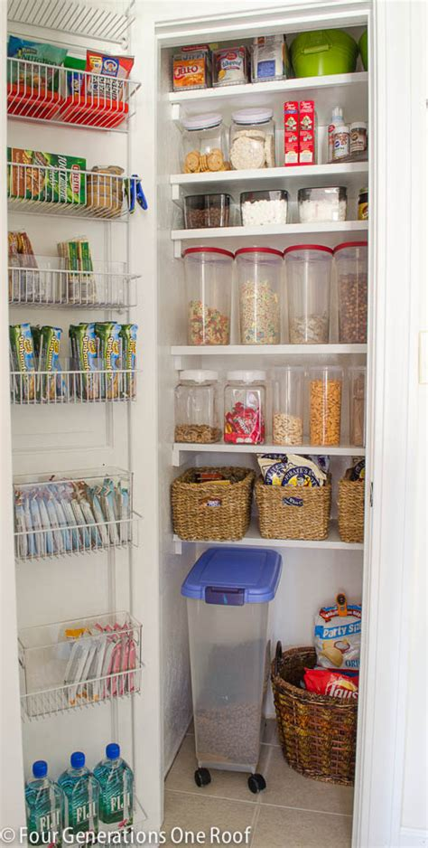 Kitchen Pantry Closet Organization Ideas Our Organized Kitchen Pantry Closet Reveal Four Generations One Roof