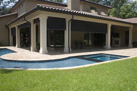 retractable screens for patios home design ideas and