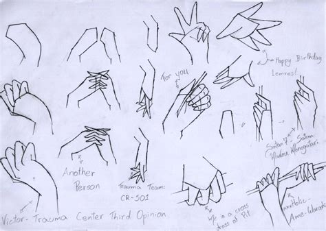 how to draw hands 35 tutorials how tos step by steps 2nd tutorial hand by tsukianimegirl on deviantart