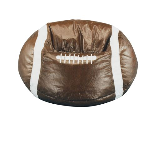 soccer bean bag chair cover bean bag factory brown football bean bag chair cover