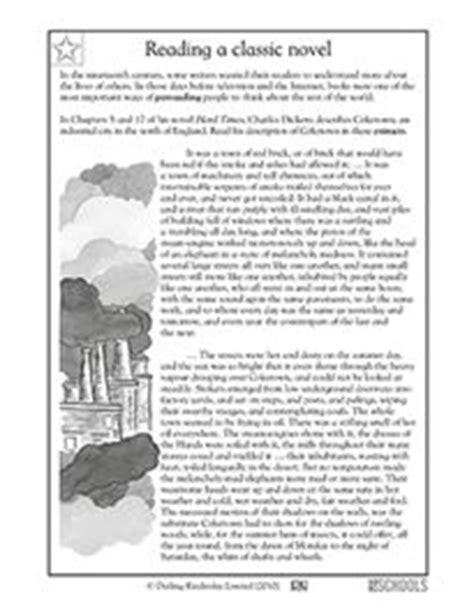Dickens Coketown Essay by 3rd Grade 4th Grade Reading Writing Worksheets Reading Comprehension The Mango Tree
