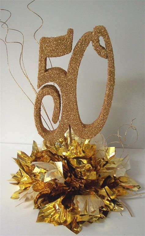 pinterest 50th birthday party ideas how centerpiece may