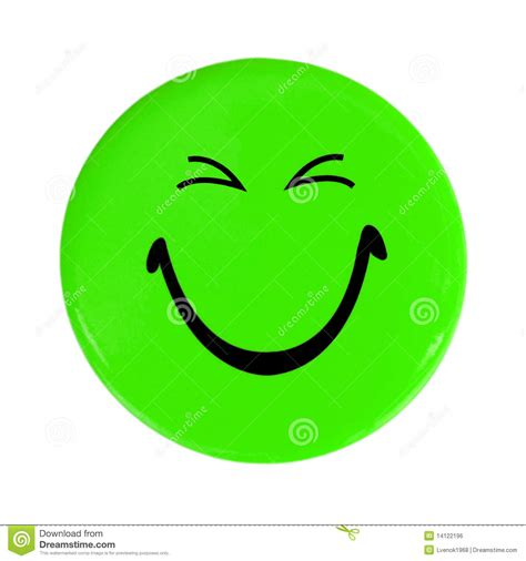 happy green color green happy face button stock photo image of shiny