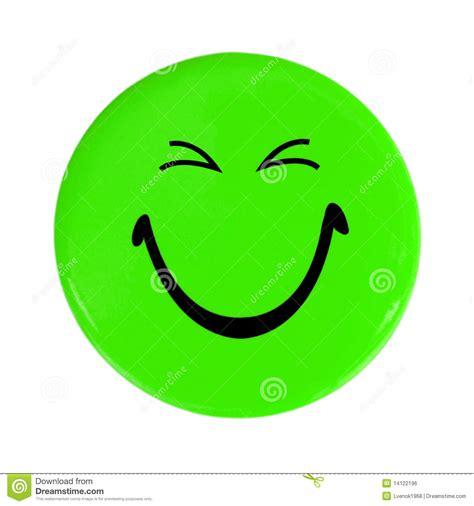 happy green color tecla feliz verde da face imagem de stock royalty free