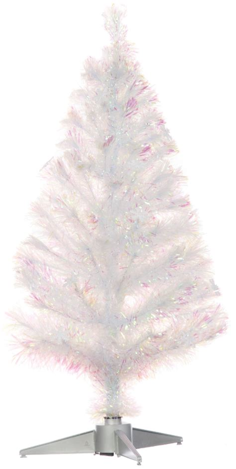 snow white fibre optic 90cm 3ft christmas tree 163 33 24