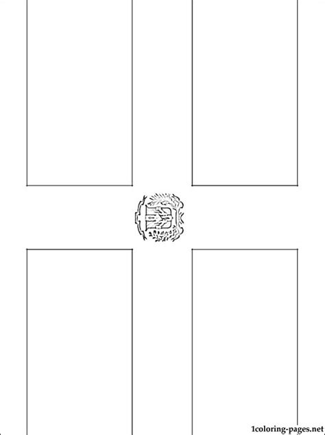 dominican republic flag coloring page coloring pages