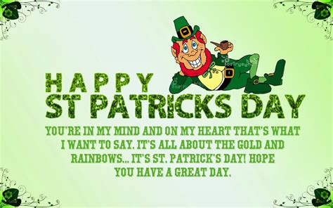 St Day Birthday Quotes St Patrick S Day Pictures Images Graphics And Comments