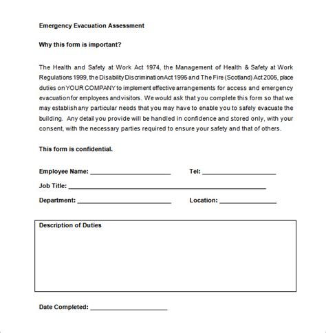 emergency plan template 11 evacuation plan templates free sle exle