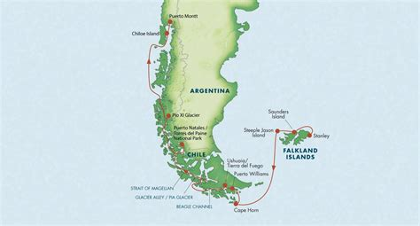 cape horn map patagonia with the falkland islands cape horn march 2016 zegrahm expeditions