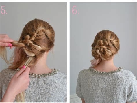 hair heroine knotted bridal hairstyle tutorial the bijou ltd