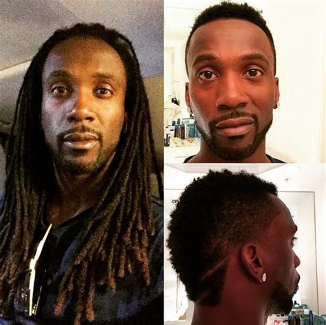 andrew mccutchen cut off his dreadlocks for charity and