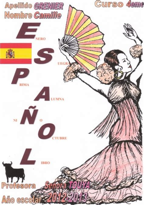 page presentation espagnol related keywords page