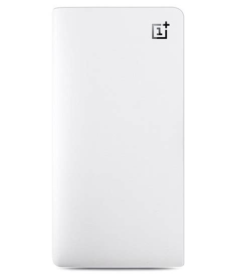 Power Bank One oneplus 2030002 10000 mah power bank white available at snapdeal for rs 2799